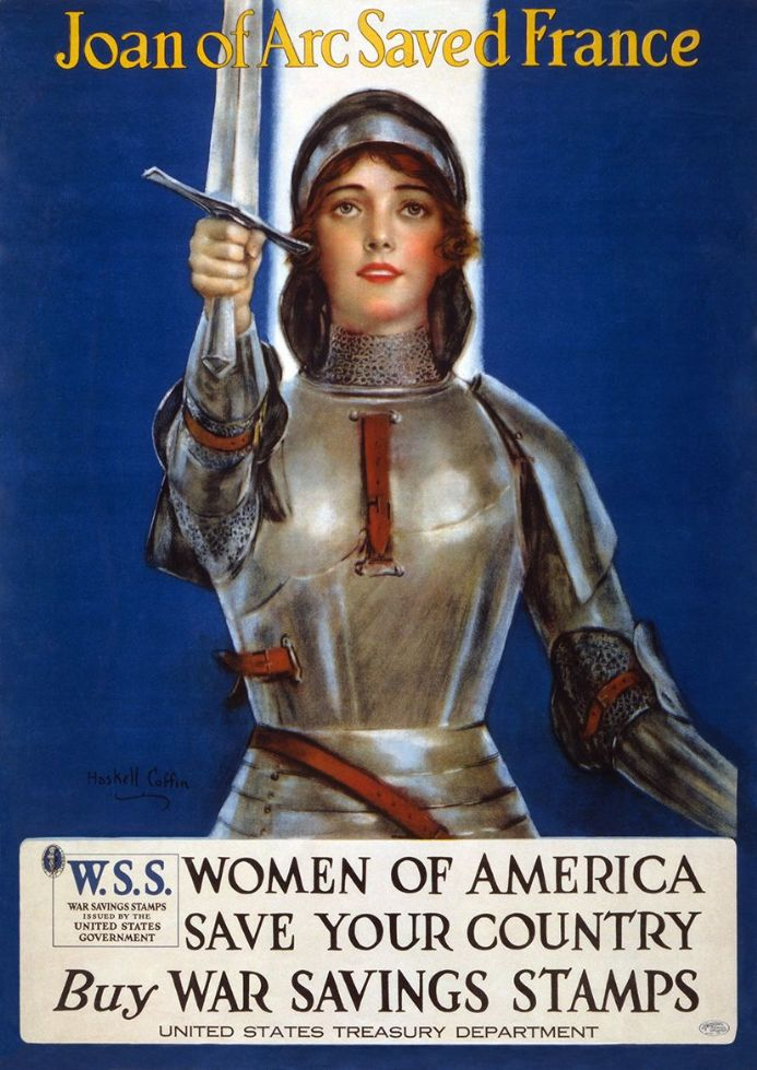Joan of Arc War Bonds Drive. Print/Poster (4910)